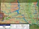 Minnesota south Dakota Border Map Geography Of south Dakota Wikipedia