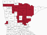 Minnesota State Map with Counties Indicator Dashboards Opioid Dashboard