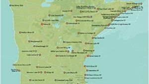 Minnesota State Road Map Amazon Com Best Maps Ever Minnesota State Parks Map 11×14 Print