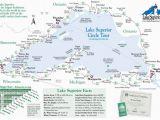 Minnesota tourism Map Simple Map Of Lake Superior Lake Superior Magazine