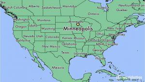 Minnesota Usa Map Location where is Minneapolis Mn Minneapolis Minnesota Map Worldatlas Com