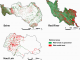 Minnesota Wetlands Map Nitrate Retention at the River Watershed Interface A New Conceptual