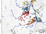 Minnesota Wolf Population Map the Calm During the Storm Snowfall events Decrease the Movement