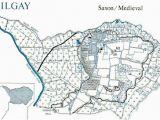 Minster Ohio Map Hilgay Ten Mile Bank Downham Market Around Local Parish