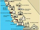 Mission Maps Of California 767 Best California Missions Images On Pinterest California