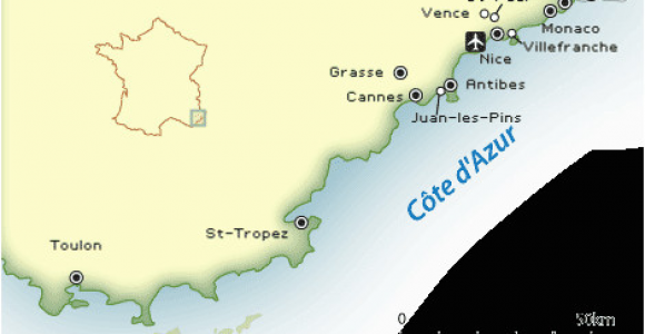 Monte Carlo Europe Map French Riviera Map and Guide