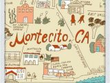Montecito California Map We Opened Our Third Store In Montecito and are Getting to Know the