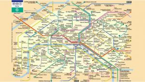 Montmartre Paris France Map Maps Of Paris You Need to Easily Find Your Way and Visit the City