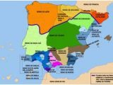 Moorish Spain Map 86 Best Spanish History In Maps Images In 2018 Historical Maps