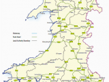 Motorway Map Of England Trunk Roads In Wales Wikipedia