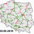 Motorway Map Of France Highways In Poland Wikipedia