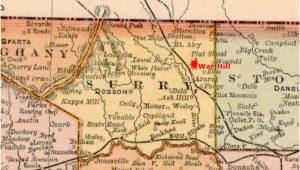 Mount Airy north Carolina Map War Hill Found north Carolina Collection