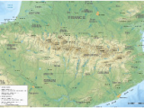 Mountain Ranges In France Map Pyrenees Wikipedia