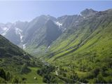 Mountain Ranges In France Map the Pyrenees Mountain Range In France
