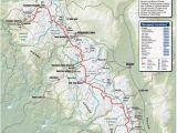 Mt Whitney California Map John Muir Trail Map Ii Love Maps Thrillaaaaaa Pinterest