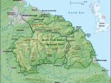 National Map Of England north York Moors Wikipedia