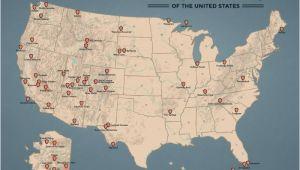National Parks oregon Map National Parks Best Maps Ever