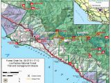Natural Hot Springs California Map Sykes Camp Sykes Hot Springs In the Ventana Wilderness
