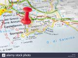 Neapolitan Riviera Italy Map Italian Riviera Map Stock Photos Italian Riviera Map Stock Images