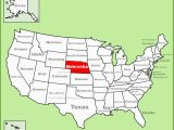 Nebraska Colorado Map Nebraska State Maps Usa Maps Of Nebraska Ne