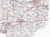 New Albany Ohio Map Map Of Indiana Ohio and Kentucky Secretmuseum