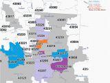 New Albany Ohio Map Zip Code Map Franklin County Ohio Secretmuseum