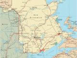 New Brunswick Canada Map Detailed Map Of New Brunswick with Cities and towns Maps