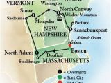 New England Foliage Map 6 Day Bus tour to Boston and New England Book Early and Save
