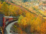 New England Foliage Map Railroading New England Smithsonian Journeys