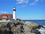 New England Lighthouses Map 5 Lighthouses to See Near Portland Maine