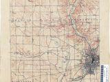 New Philadelphia Ohio Map Ohio Historical topographic Maps Perry Castaa Eda Map Collection