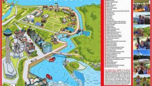 Niagara Falls Canada Parking Map Niagara Map Niagara Falls In 2019 Visiting Niagara Falls