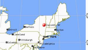 North & south Carolina Map Corinth New York Ny 12822 Profile Population Maps Real Estate