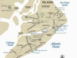 North and south Carolina Beaches Map Maps Of Hilton Head island south Carolina