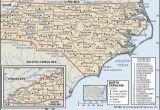 North Carolina Blank Map State and County Maps Of north Carolina