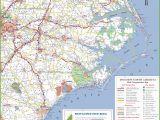 North Carolina Coastal Cities Map Map Of south Carolina Coast Fresh north Carolina State Maps Usa