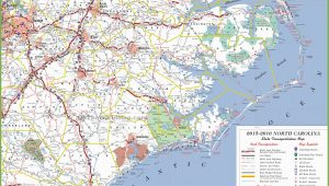 North Carolina Coastline Map north Carolina State Maps Usa Maps Of north Carolina Nc