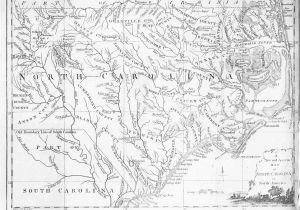 North Carolina County Map Pdf north Carolina County Map