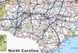North Carolina County Maps with Cities north Carolina Road Map