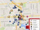 North Carolina Crime Map Crime In Oakland Oakland Ca Crime Map Spotcrime