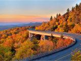 North Carolina Foliage Map Fall Foliage Peak Periods In the southeast