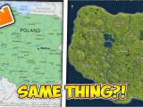 North Carolina Game Lands Map Nc Game Lands Map Lovely the fortnite Map is Actually Poland