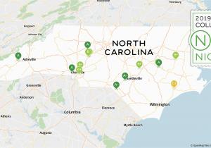 North Carolina Golf Courses Map 2019 Best Colleges In north Carolina Niche