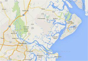 North Carolina Golf Courses Map Maps Of Hilton Head island south Carolina