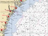 North Carolina Intracoastal Waterway Map 40 Icw Mileage Chart Ideen