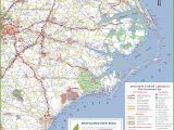North Carolina Map with towns north Carolina State Maps Usa Maps Of north Carolina Nc