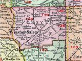 North Carolina School District Map Davidson County Nc School District Map Elegant Winston Salem north