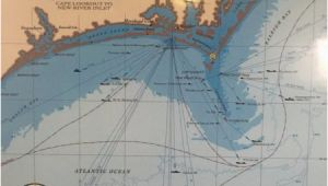 North Carolina Shipwreck Map Map Of the Nc Wrecks Picture Of Olympus Dive Center Morehead City