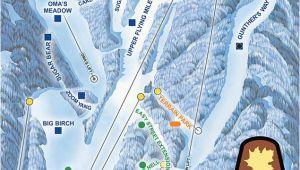 North Carolina Ski areas Map Current Conditions Sugar Mountain Resort