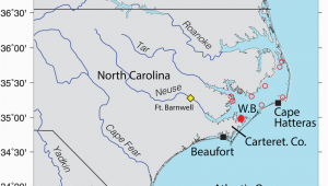 North Carolina sounds Map Location Map Oyster Reserve Sites In Pamlico sound north Carolina